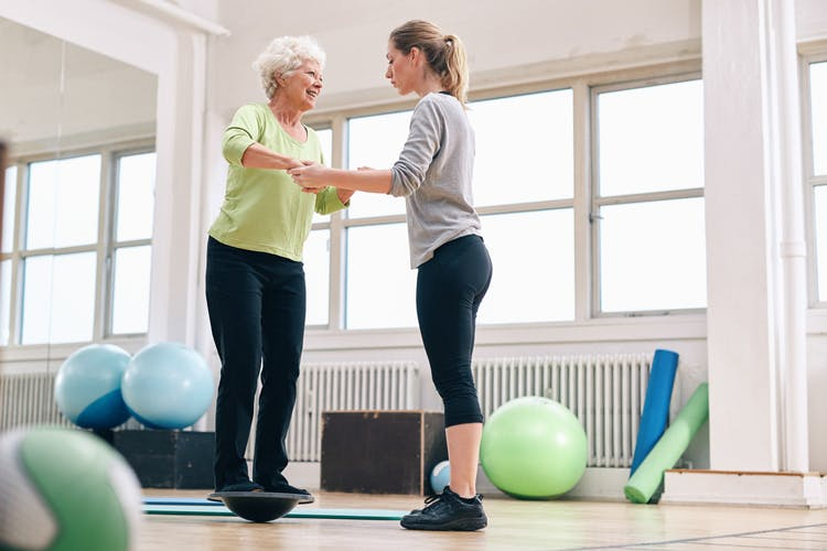 therapy for balance problems, core physical therapy
